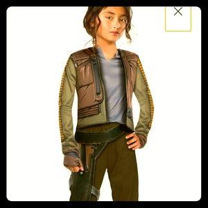 Star Wars Jyn Erso Rogue One; Sz S (4-6) Offer!